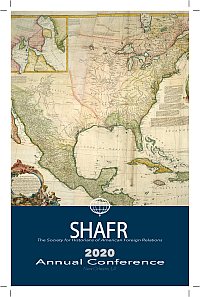 SHAFR 2020 Program cover