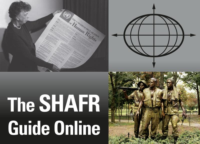 The SHAFR Guide montage